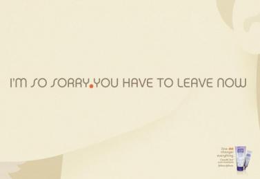 Clean & Clear: I'M SORRY Print Ad by DDB Sao Paulo