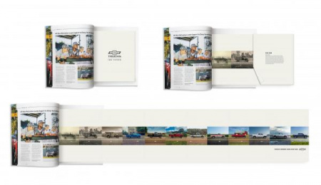 Chevrolet Trucks: Centennial Timeline Print Ad by Commonwealth/McCann Detroit, Supply&Demand