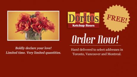 Doritos: Ketchup Roses Film by BBDO Toronto