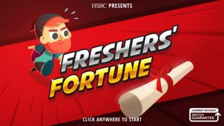 HSBC: Freshers' Fortune, 1 Digital Advert by J. Walter Thompson London