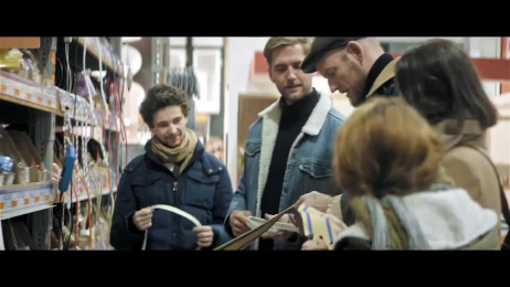Hornbach: Lounge Chair by Sigurd Larsen [Documentary] Making of by Heimat Berlin, Play Media