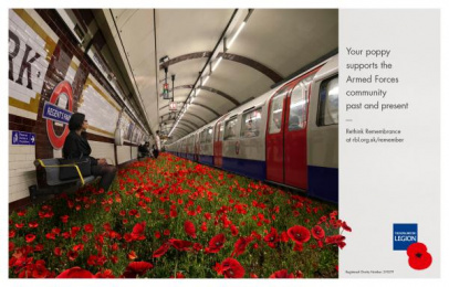 The Royal British Legion: Poppy, 2 Print Ad by Unit 9 London, Y&R London