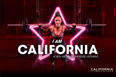 California Fitness: I am California - H'hen Nie Print Ad by DDB & Tribal Vietnam