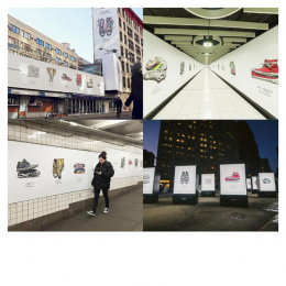 Converse: Made By You, 4 Outdoor Advert by Anomaly New York, J. Walter Thompson New York