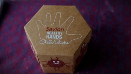Savlon: Savlon Healthy Hands Chalk Sticks [image] 3 Design & Branding by Good Morning Films, Ogilvy & Mather Mumbai