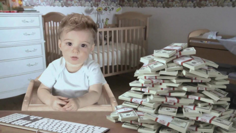 E*trade Financial Services: Baby, Save It Film by Grey New York, The Mill