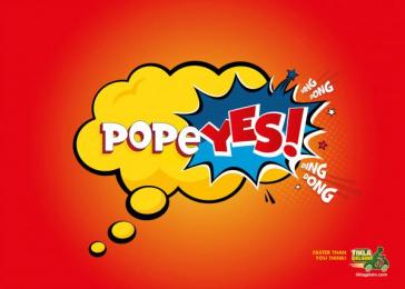 Tikla Gelsin: popeYES Print Ad by Guzel Sanatlar/bates