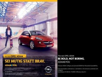 Opel: Be Bold Print Ad by Scholz & Friends Hamburg