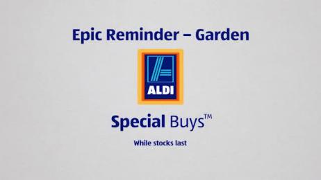 Aldi: Epic Reminders Radio ad by BMF Australia, Scoundrel