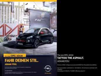 Opel: Drive your Style Print Ad by Scholz & Friends Hamburg
