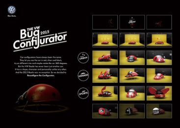 Volkswagen: Bug Configurator, 1 Digital Advert by Massive Music, Ogilvy & Mather Beijing, Ogilvy Beijing Lab / Beijing
