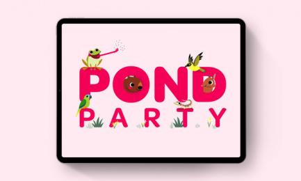 Powershop: Powershop Pond Party, 5 Digital Advert by Grey Melbourne