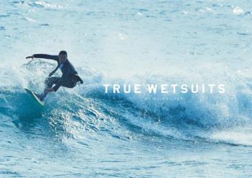 Quiksilver: True Wetsuits [image] 2 Design & Branding by Dentsu Inc. Tokyo, Taiyo Kikaku Co., TBWA\Hakuhodo Tokyo