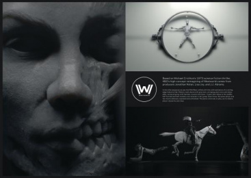 HBO: Westworld [image] Design & Branding by Elastic Pictures