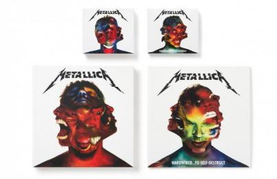 Metallica: METALLICA HARDWIRED TO SELF-DESTRUCT ALBUM DESIGN, 1 Design & Branding by Turner Duckworth: London & San Francisco