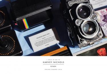 Harvey Nichols: Camera Print Ad by Lowe Mena Dubai