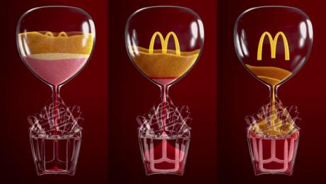 McDonald's: Iftar Sand Clock, 1 [video] Film by Leo Burnett, Saudi Arabia