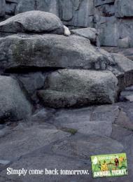 Zoocard (annual Ticket): POLAR BEAR Print Ad by Scholz & Friends Berlin