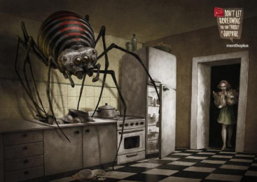 Menthoplus Candies: Kitchen Print Ad by Y&R Buenos Aires