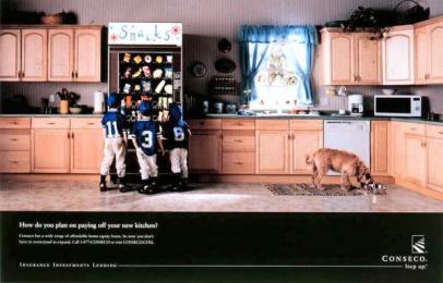 Conseco: KITCHEN Print Ad by Fallon Mcelligott