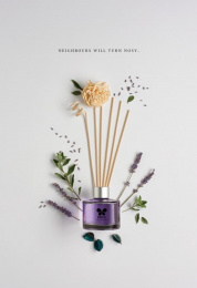 Iris Home Fragrances: Lavender Print Ad by Plan B, Yellow Umbrella Productions
