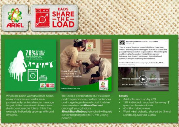 Ariel: Ariel - Laundry Lessons For Dads Case study by Mediacom Mumbai
