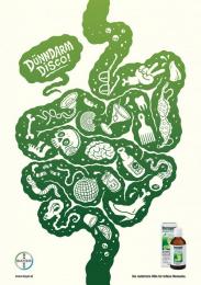 Iberogast: Intestines Print Ad by PKP BBDO Vienna