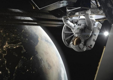 BBC: Home: A VR Spacewalk [supporting image] 2 Digital Advert by Rewind St. Albans