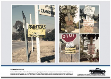 Ford Bantam: Ford Bantam Classifieds Print Ad by J. Walter Thompson Johannesburg