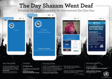 World Health Organization/ WHO: The Day Shazam Went Deaf Digital Advert by BBR Saatchi & Saatchi Israel