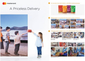 Mastercard: A Priceless Delivery [image] Case study by Fortune Promoseven Dubai