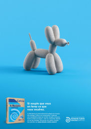 Ciments Calcia: Give character to your works, 6 Print Ad by Epoka