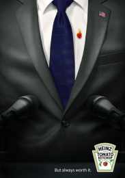 Heinz: President Print Ad by Team collaboration