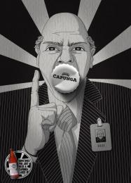 Capunga: Boss Print Ad by Martpet Comunicacao