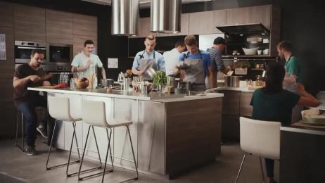 IKEA: Kitchen concert Film by Dynamic Frame, Wirz Werbung Zurich, Wirz Zurich
