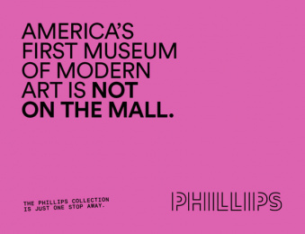 The Phillips Collection: America's First Modern Art Museum, 8 Outdoor Advert by January Third