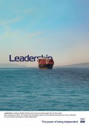ZIM: Leadership Print Ad by No, No, No, No, No, Yes