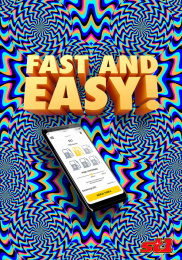 St1: Fast and easy Outdoor Advert by Garbergs Annonsbyra