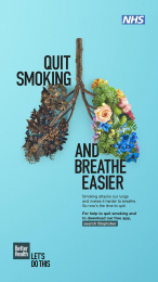 Better Health: Stoptober - Poster Print Ad by M&C Saatchi London, Wavemaker Creative