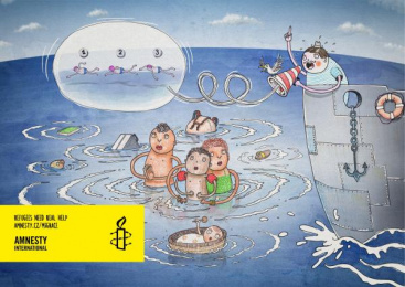 Amnesty International: Refugees in Europe Print Ad by Vaculik Advertising