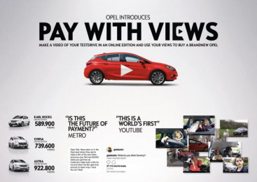 Opel: Opel Digital Advert by J. Walter Thompson Amsterdam