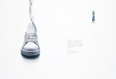 Cif: Trainer Print Ad by MullenLowe London