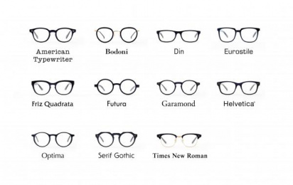 Oh My Glasses Inc.: Type Print Ad by Wieden + Kennedy Tokyo