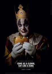 Burger King: Scary Clown Night, 4 Print Ad by Lola Madrid