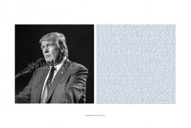 Shutterstock: Trump Print Ad by DDB Bogota