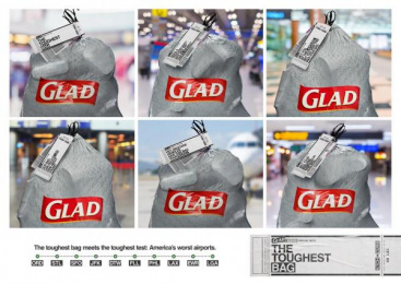 Glad: The Toughest Bag Direct marketing by FCB Chicago