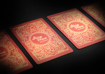King Price Insurance: Playing Cards, 8 Print Ad by Xfacta Consulting Service