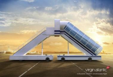 Virgin Atlantic: Noticeable comfort Print Ad by BBDO Russia Group, Selderey Moscow