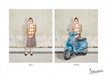 Vespa: Girl Print Ad by Acw Grey Tel-Aviv