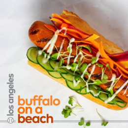 Dietz & Watson: Buffalo on a Beach Print Ad by Red Tettemer O'Connell + Partners